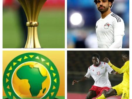 After Angola And Egypt Won Their Games, See The AFCON Qualifiers Results And Tables