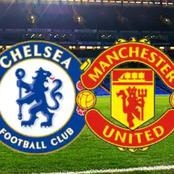 Fans predict a draw, as Frank express mixed feeling ahead of Chelsea and Manchester United clash.