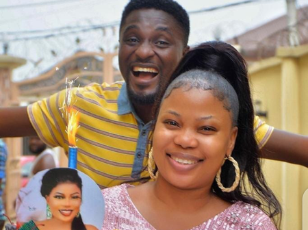 'Beautiful Celebrity Couple': See Lovely Photos Of Seyi Edun And Her Husband, Adeniyi Johnson