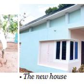 Check out the house this man gifted to a widow in Anambra state