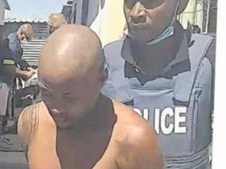 The man arrested for the double murder of the two policemen
