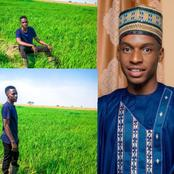 Unemployed Nigerian graduate starts farming with savings from NYSC allowance