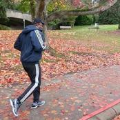 Des photos d'Hamed Bakayoko entrain de faire du jogging ont été repérées comme