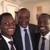 Meet the Son of Very Famous Kenyan Who At One Time Washed His Hands With A Very Expensive Champagne