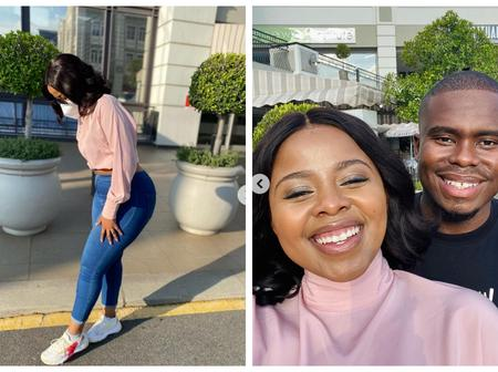 Nonhle from Generations shares pictures with her boyfriend? See pictures that left fans speechless.