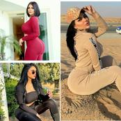 Meet Chayam Allam, The Hot Arabian Model Who Is Of An African Origin With A Huge Shape