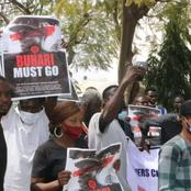 Today's News: Buhari Must Go Protest Hits Street, Governor's Convoy Crashes, Afenifere Disown Tinubu