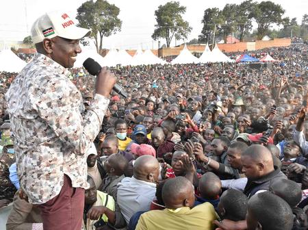 This is What people Had to Say About Ruto's Crowd in Baringo