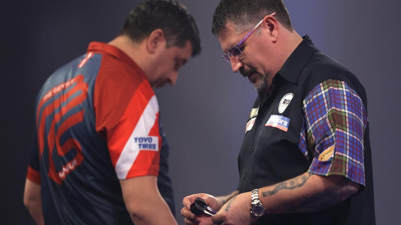 Furious Gary Anderson threatens to quit darts in rant over Mensur Suljovic's gamesmanship tactics