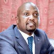 Why Moses Kuria Might Heavily Regret Supporting William Ruto And Fighting Uhuru Kenyatta Politically