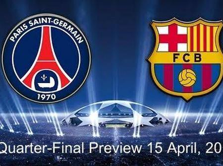 UCL: See player ratings, man of the match and Post-match stat of PSG vs Barcelona's match