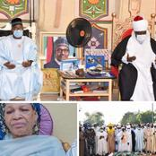 Emir of Bauchi loses step-mother after a brief illness [Photos]