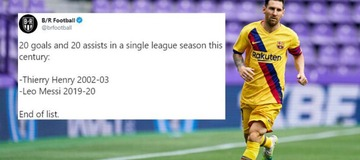 Twitter explodes as Lionel Messi breaks yet another La Liga record in Barcelona's victory