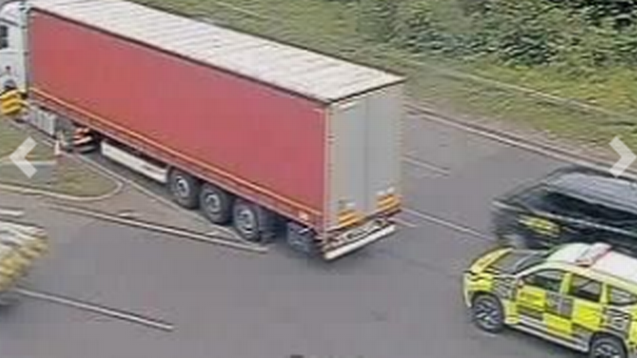 Live: Emergency services rush to lorry and car crash on A13