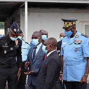 À 24h de la campagne électorale, KKB dans les locaux de la préfecture de police d'Abidjan