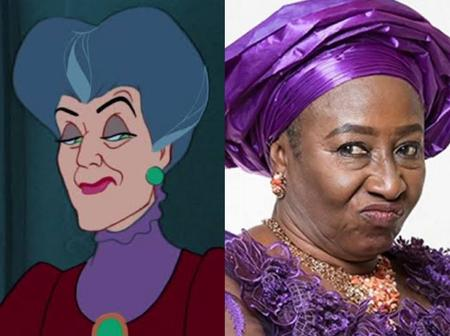 Check out this 20 hilarious Nigerian Celebrities And The Cartoon Characters They Look Like