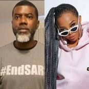 Reno Omokri And Toke Makinwa Blast Each Other On Twitter