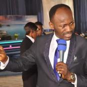 Apostle Johnson Suleman Releases Another Strong Prophecy For The Week