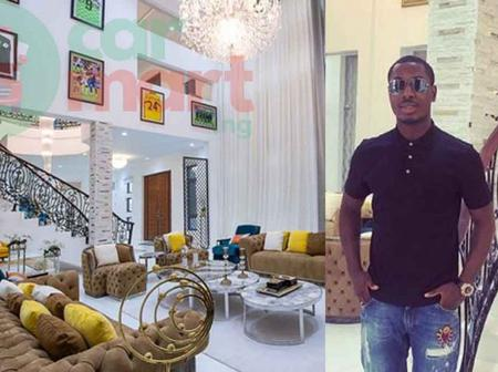 Lifestyle: Adorable Photos Of Football Star, Odion Ighalo With His Mother, Wife And Children