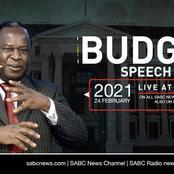 Tito Mboweni 2021 budget....government allocate 4.3 billion rand bailout for SAA.