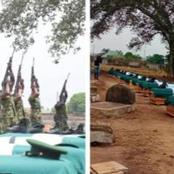 The Name & Identity Of The Terror Group That Killed 12 Soldiers In Benue State Is Now Known.