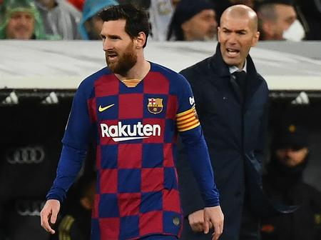 I don't want tomorrow's Clasico to be his last one - Real Madrid manager on Leo Messi's future