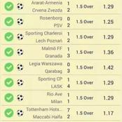 Today correct score 2-1 for these three teams with 28.9 odd value to earn you 21k