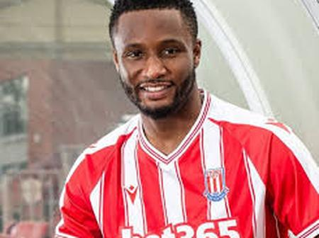 Mikel Obi Reveals What He Wants To Achieve After Joining Stoke City