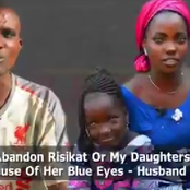 I did not abandon my wife because of her eyes, I fell in love with her because of her eyes - Husband