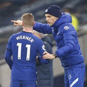 What Timo Werner Did For Chelsea Against Everton That Left Thomas Tuchel Angry on The Touchline