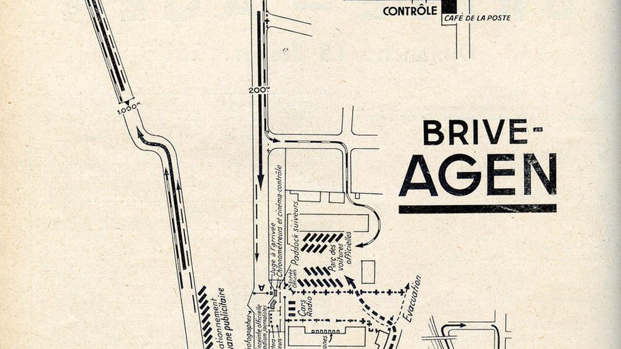 1951, Koblet entre à Agen, et dans la légende du Tour