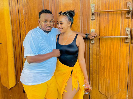 Socialite Amber Ray's Boyfriend Shares Photo Of His Beautiful Wife And Kids