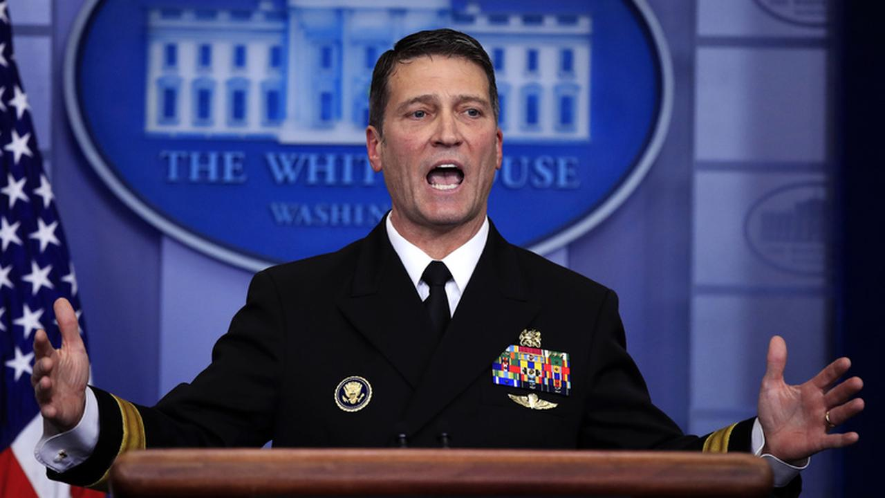 Pentagon probe slams ex-White House Dr. Jackson's behavior