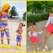 See 30 Stunning Pictures Of Mother And Daughter With Beautiful Fashion Attires