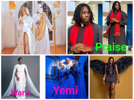 Not Only Toyin Lawani, Check Out Outfits of Other Celebrities at The Prophetess Movie Premiere