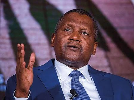Do You Know Dangote's Only Son Is Adopted? Checkout Some Photos Of Him