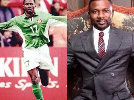 Remember Ex Super Eagles Striker Julius Aghahowa? See What He Looks Like Now