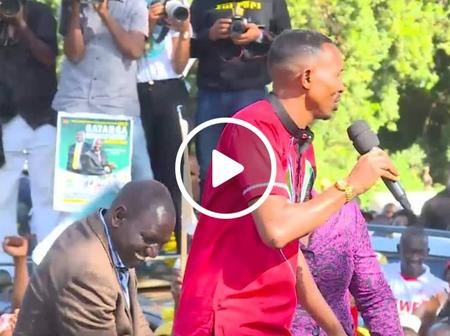 Moha Jichopevu Excites Kenyans With His Fluent Kikuyu Accent During Ruto's Murang'a Visit (Video)