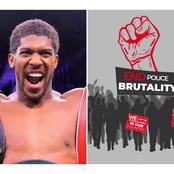 """""""Keep Your Food, We Are Not Hungry""""-Checkout What Anthony Joshua Tweet That Made Nigerians Blast Him"""