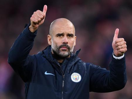 Guardiola Rates Manchester City 20 Games Winning Run as the Greatest Achievement of His Career