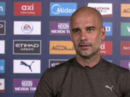 Guardiola- Man city boss signs a new deal on Thursday.