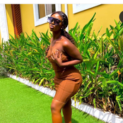 See the nice outfit a Ghanaian lady posted on Instagram