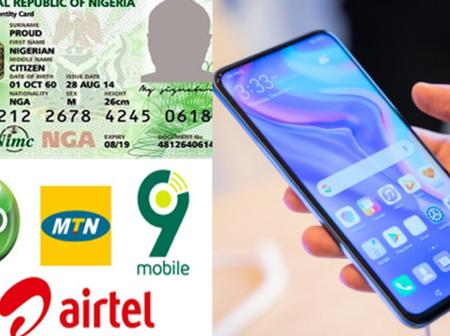 How to link you national identity number to your mtn and 9mobile sim card.