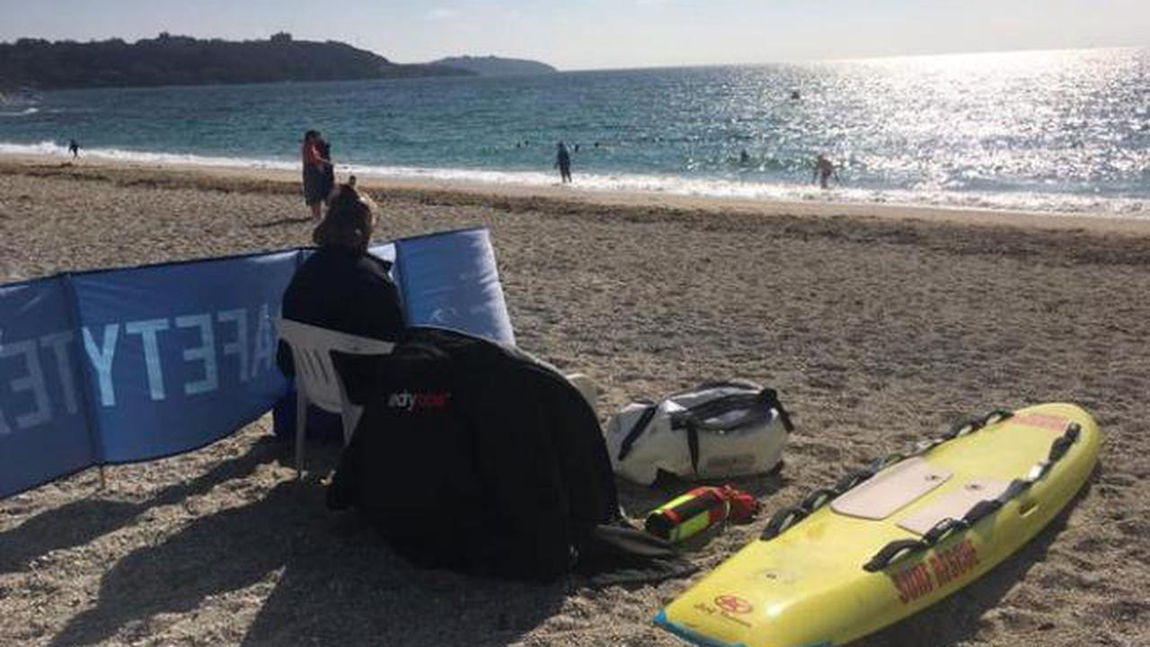 Falmouth beach patrols start to fill lifeguard gap in a bid to keep people safe