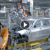 Video: See How A BMW X7 Is Assemble Using Robots