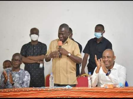 A la veille des législatives , Kalou et Zoro Bi Épiphane chez Bictogo