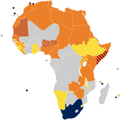 Check out African countries who have and have not accepted the LGBT