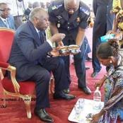 Laurent Gbagbo, à l'époque où on n'avait pas peur de manger en public...