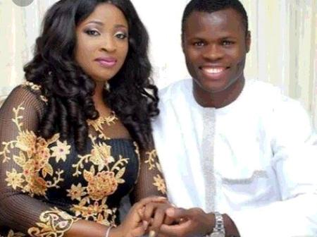 See Lovely Photos Of Taye Taiwo With His Wife And Children