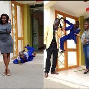 Gospel Artiste Embarambamba Excites Netizens With His Poses While Taking Photos (Photos)